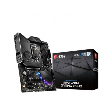 MSI MPG Z490 Gaming Plus - Motherboard - ATX (7C75-007R)