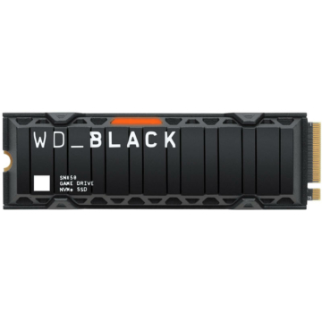 Western Digital SN850 M.2 500 GB PCI Express 4.0 NVMe Heatsink
