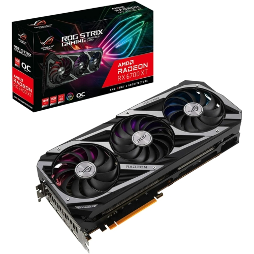 Asus GeForce RX 6700 XT ROG STRIX Gaming OC 12 GB GDDR6