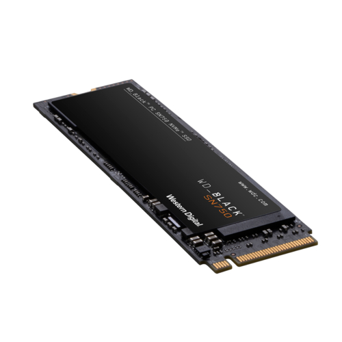 WD SSD Black SN750 NVMe 1TB PCIE M.2 2280 R3470/W3000 MB/s w HS