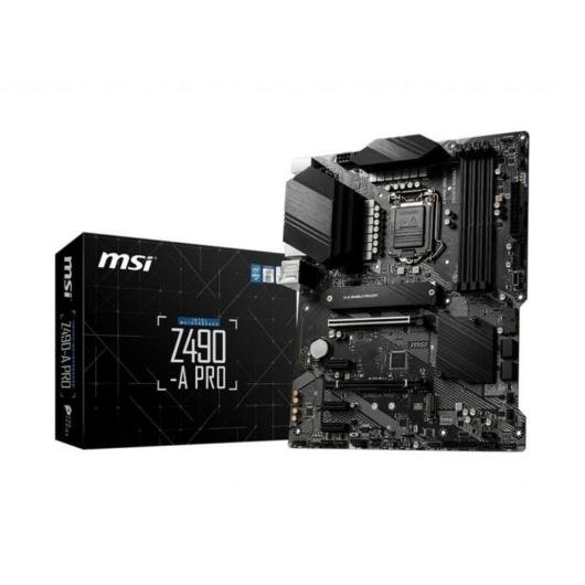 MSI Z490-A PRO Motherboard 'ATX  LGA1200